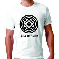 Camisetas Gospel Banda Rosa De Saron Evangélica Deus Plt.
