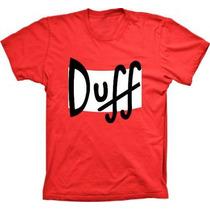 Camiseta Duff,os Simpsons,bart,homer,bart Caveira