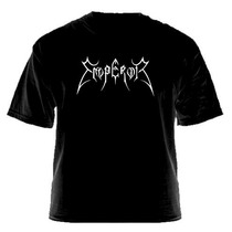 Camiseta Emperor - Logootipo | Black Metal | Warlock