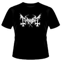 Camiseta Mayhem   Básica Warlock   Frete Grátis