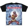 Camiseta Iron Maiden - Somewhere Back In Time - Eddie