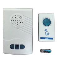 Campainha Sem Fio Wi Fi Wireless 32 Toques Bi-volt 110 220
