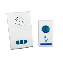 Campainha Sem Fio, Wireless, 150m, 32 Toques A Prova D