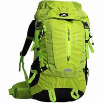 Mochila Cargueira Acampamento Ozark Trail 55 Litros Neon