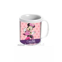 20 Caneca Personalizada Minnie Rosa Lembrancinha Aniversário