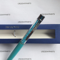 Caneta Swarovski Crystalline Lady Ballpoint Pen Azul Aníl