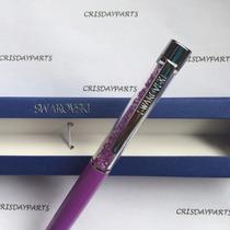 Caneta Swarovski Crystalline Lady Ballpoint Pen Lilás