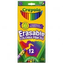 Material Escolar -lapis De Cor Apagavel 12 Cores - Crayola