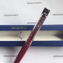 Caneta Swarovski Crystalline Lady Ballpoint Pen Rosa Pink