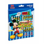 Canetinha Hidrocor Bicolor Caixa 12/24 Cores Mickey Molin