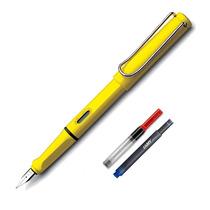 Caneta Tinteiro Lamy Safari Shiny Yellow + Conversor