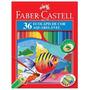 Lápis De Cor 36 Cores Aquarelável Faber Castell Ecolápis