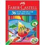 Lapis Faber Castell Original 36cores Aquarelavel+freteg.