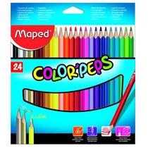 Lápis De Cor - Color Peps - 24 Cores - Somos Atacado