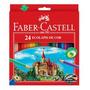 Lapis Cor 24 Cores Faber-castell Pacote C/06 Caixas