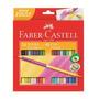 Lápis De Cor Bicolor Faber Castell - 24 Lápis = 48 Cores