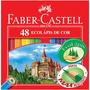 Lápis De Cor Faber Castell 48 Cores Imperdível Confira