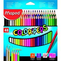 Lápis De Cor - Color Peps - 48 Cores - Somos Atacado