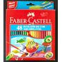 Lápis De Cor Faber Castell Aquarelável 48 Cores