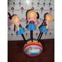 Ponteira Anna Em Eva 3d 8 Cm - Frozen Kit C/ 3