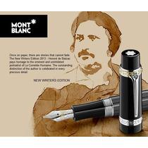Caneta Mont Blanc Honoré De Balzac Tinteira