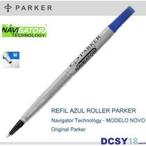 Carga Parker Roller Ball - Refil Tinta Azul - M Média