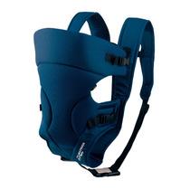 Canguru Carregador Bebê Baby Bag Azul 3 Posições Até 15 Kg