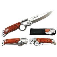 Canivete Automático Preto P/ Camping, Pesca, Trihas E Mais++