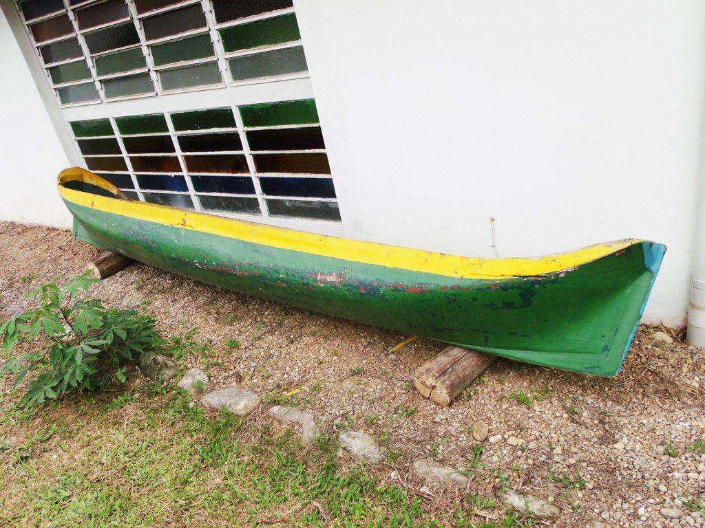 Canoa De Pesca Caiçara Em Madeira Nobre 4 5m R$ 4.500 00 no  #C2B109 1024x768