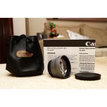 Conversor Tele Canon Tl-h37 Para Hr10, Hf10, Hv10, Hf100