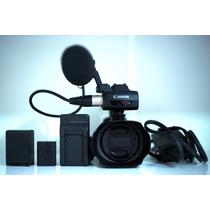 Filmadora Canon Xa 10 - Full Hd 64gb Interno + Mic Xlr Sony