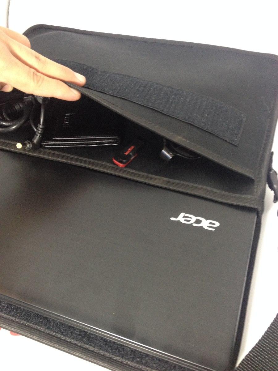 Bolsa De Ombro Para Notebook : Capa case bolsa para notebook polegadas com al?a