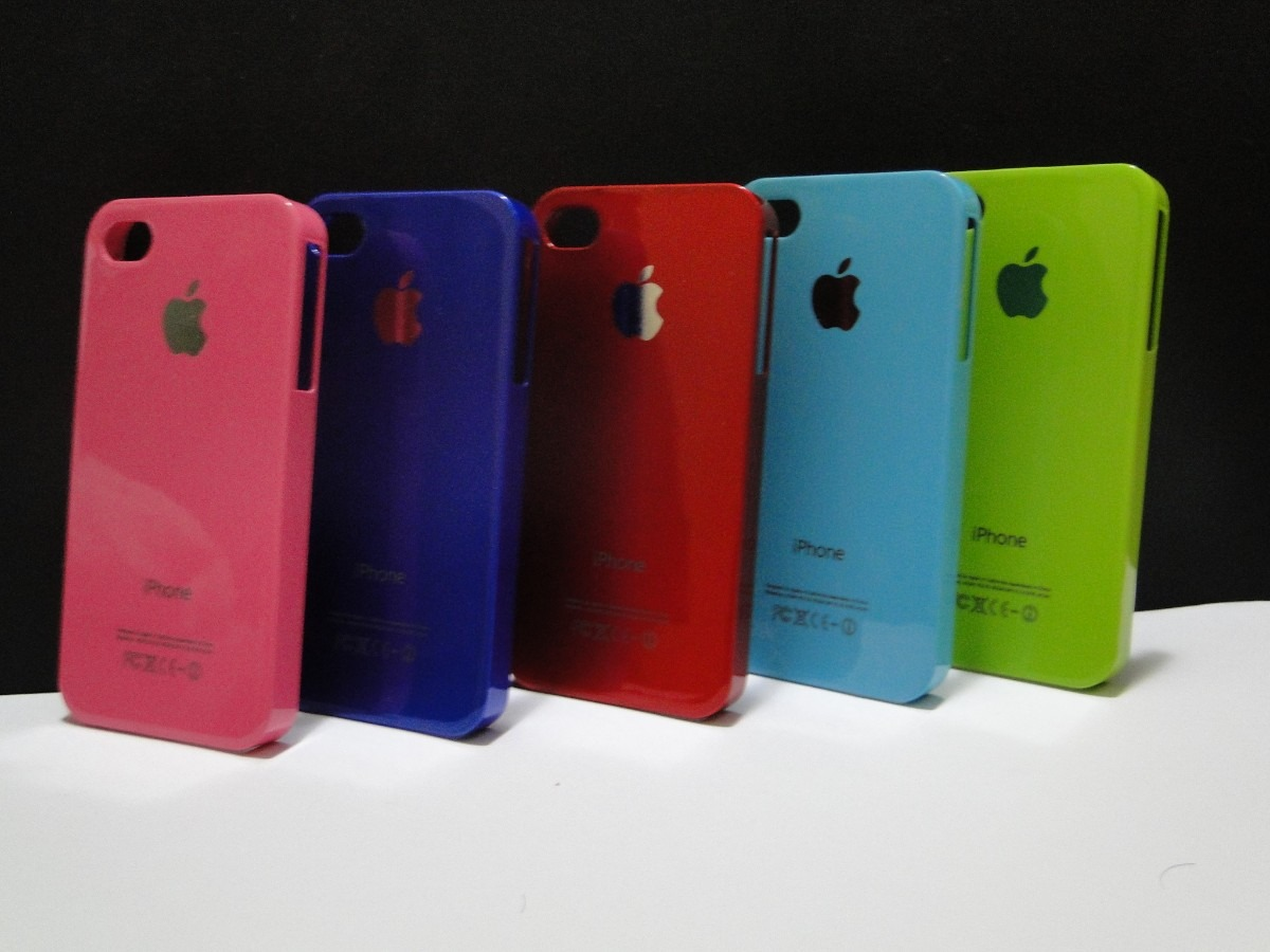 MLB 696166634 capa case celular apple iphone 4 iphone 4s varias cores ...