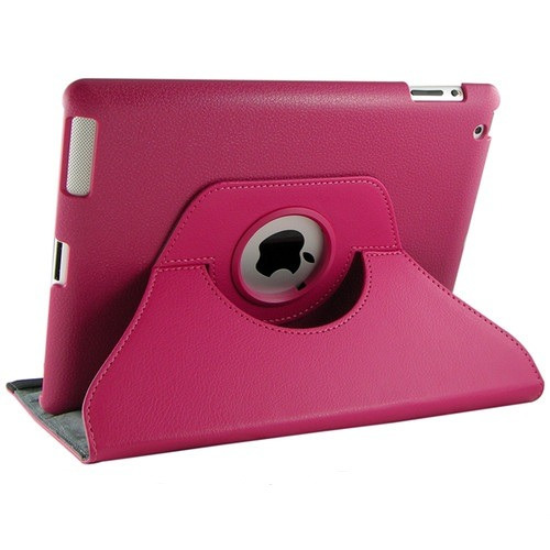 Capa Case Couro Apple Ipad 2 E New Ipad 3 Gira 360 Graus