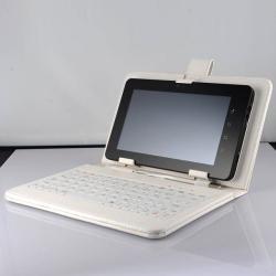Capa Case De Couro Com Teclado Para Tablet 7 Android Usb