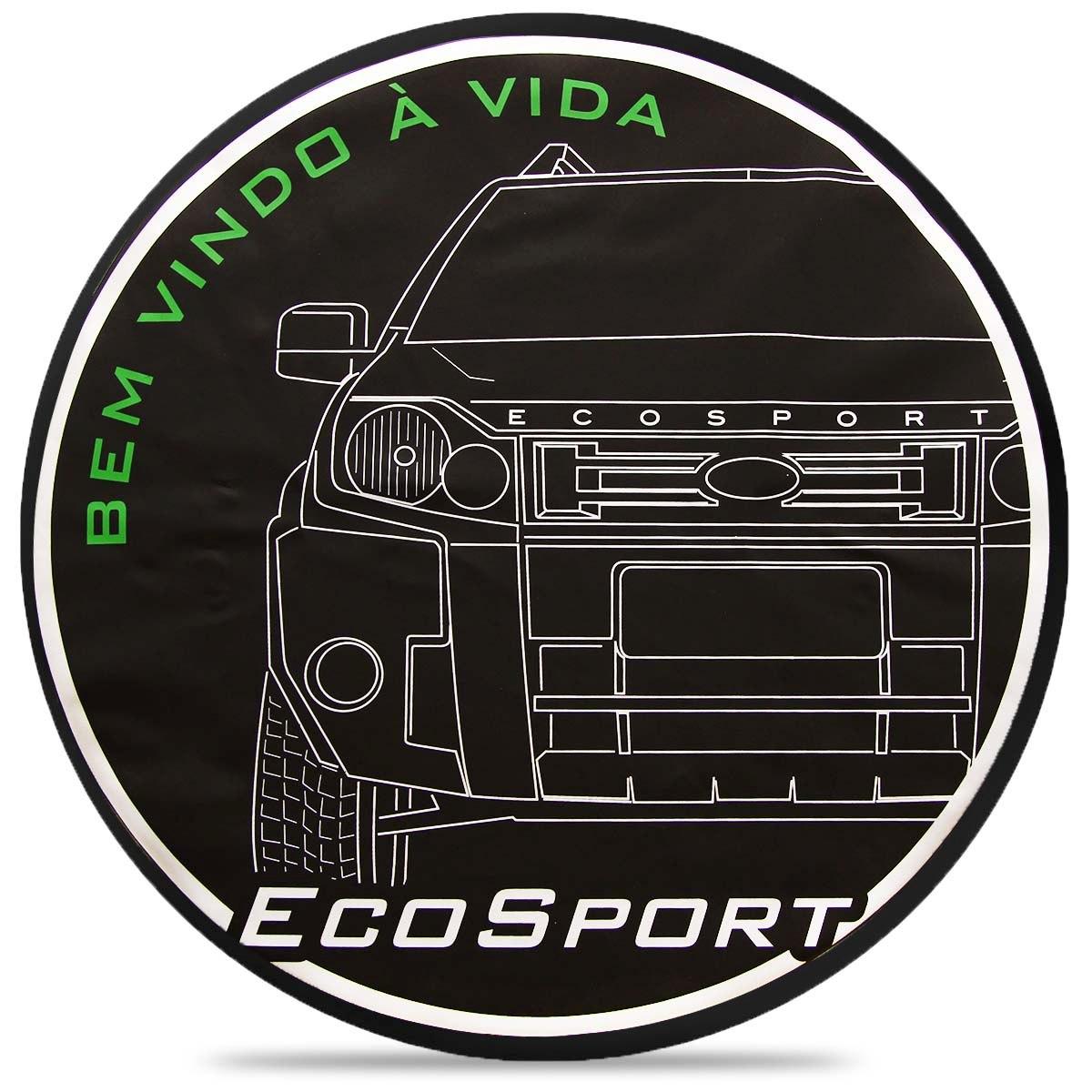 Bem Vindo Sport: Capa De Estepe Bem Vindo A Vida Ecosport Personalizada