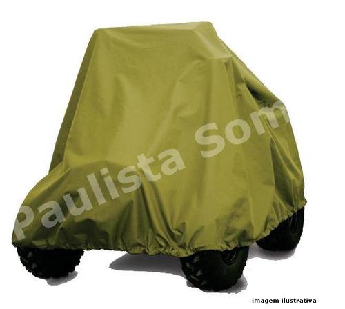 Capa De Proteção Em Nylon Para Quadriciclo 100% Emborrachada