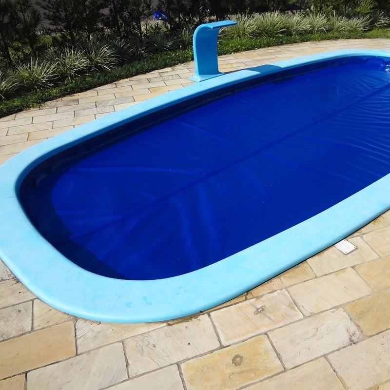 Capa manta t rmica bolha flutuante para piscina 4x4 for Manta termica piscina