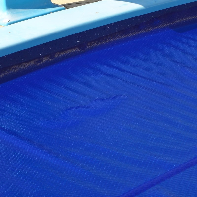 Capa manta t rmica bolha flutuante para piscina 4x4 for Piscina 4x4