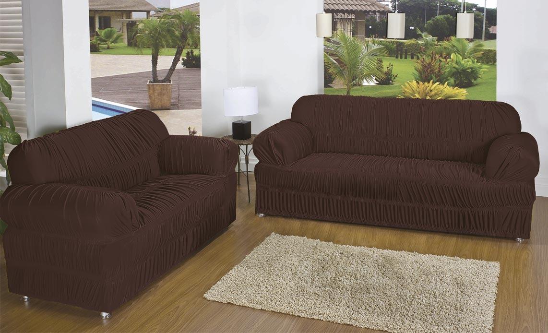 capa protetora d sof malha 3 2 e 1 lugares c 21. Black Bedroom Furniture Sets. Home Design Ideas