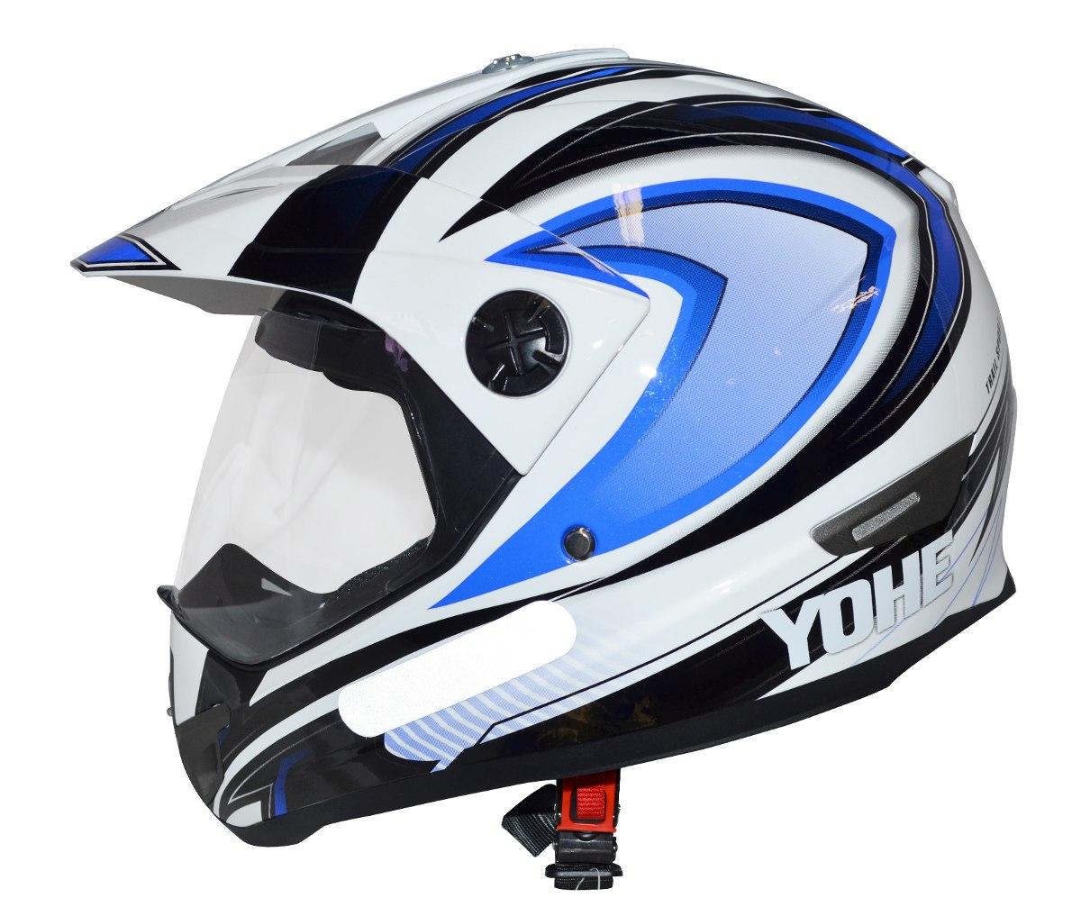 Capacete Yohe Helt Cross Vision C/ Viseira - R$ 259,90 no ...