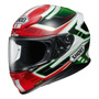 Capacete Shoei Nxr Valkyrie Tc1 Vermelho/verde 59/60 Rs1