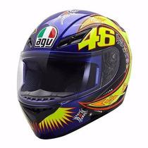Capacete Agv K3 Valentino Rossi Moto Gp Oficial 60 L