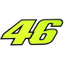 Adesivo 46 Valentino Rossi Médio Resinado Alto Relevo