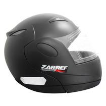 Capacete Moto Robocop Taurus Zarref V3 Modular Lançamento