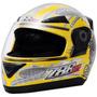 Capacete Evolution 3g Alien Pro Tork 788 Street Moto Amarelo