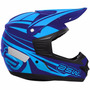 Capacete Motocross Asw Factory 2016 - Azul- Tam 58 (ea2825)