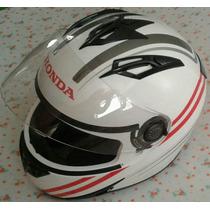 Capacete Esportivo Honda Original + Capa Tamanho 58