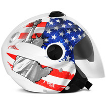 Capacete New Atomic Americano Usa Pro Tork Viseira Solar 58