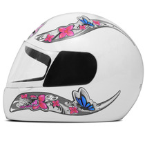 Capacete Pro Tork Feminino Liberty 4 Four For Girls Branco